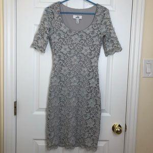 Belle Badgley Mischka Lace Bodycon Dress Size 4